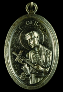 Photo of OXIDIZED ST GERARD MEDAL 704GE