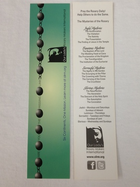 Photo of OLRM BOOKMARK W/ MYSTERIES/10 PK BKMK