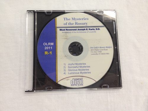 Photo of ROSARY ON THE AIR CD. ARCHBISHOP OF LOUISVILLE JOSEPH KURTZ LEADS THE ROSARY CD