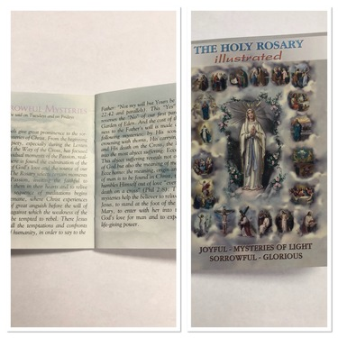 Photo of POCKET SIZE HOLY ROSARY BOOK, INCLUDING THE MYSTERIES HR-03