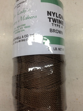 Photo of #36 BROWN TWISTED NYLON TWINE M36BR