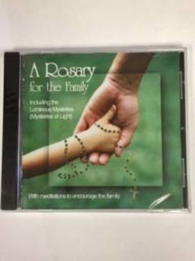 Photo of A ROSARY FOR THE FAMILY CD, INCLUDES ALL THE MYSTERIES RFF-CD